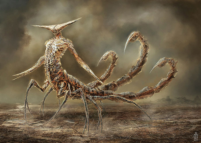 Artist Recreates Zodiac Signs As Awesome Monsters-08