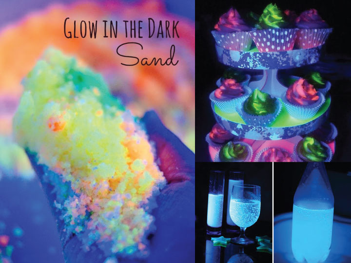 12 magical glow in the dark diy projects