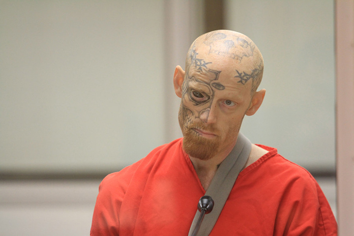 The Man Who Was Sentenced For Shooting A Cop Has A Tattoo On His Eyeball