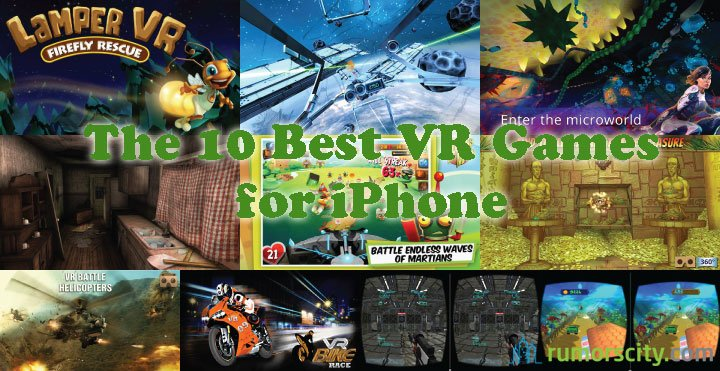 The 10 Best VR Games For iPhone