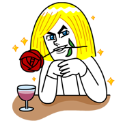 James: Special Edition Line Sticker - Rumors City